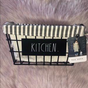 RAE DUNN  |  KITCHEN Storage Basket